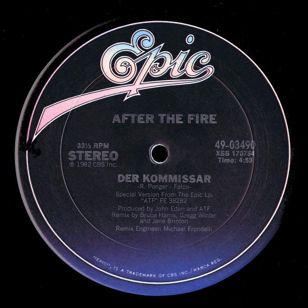 After The Fire – Der Kommissar Lyrics   Genius Lyrics