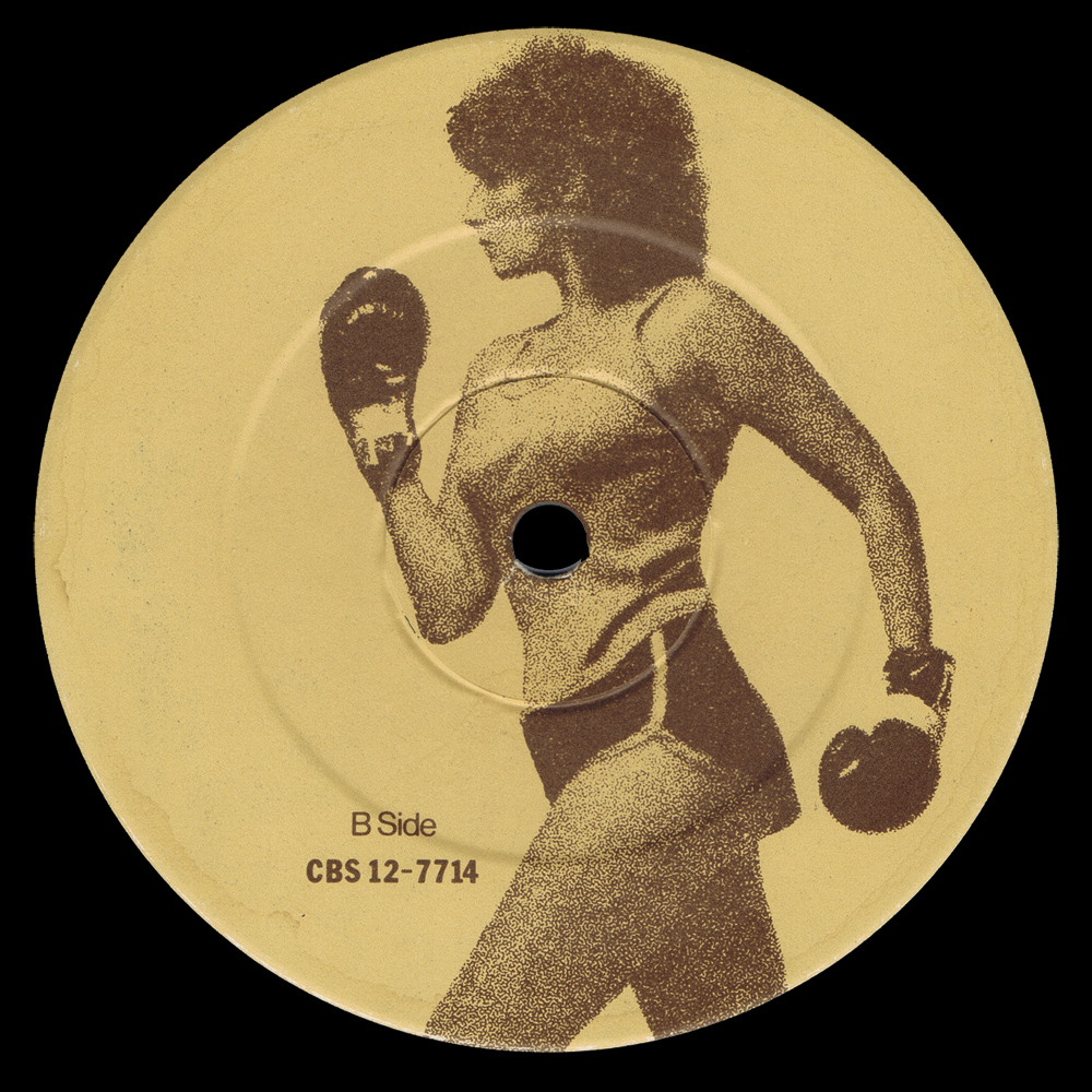 B Side Label