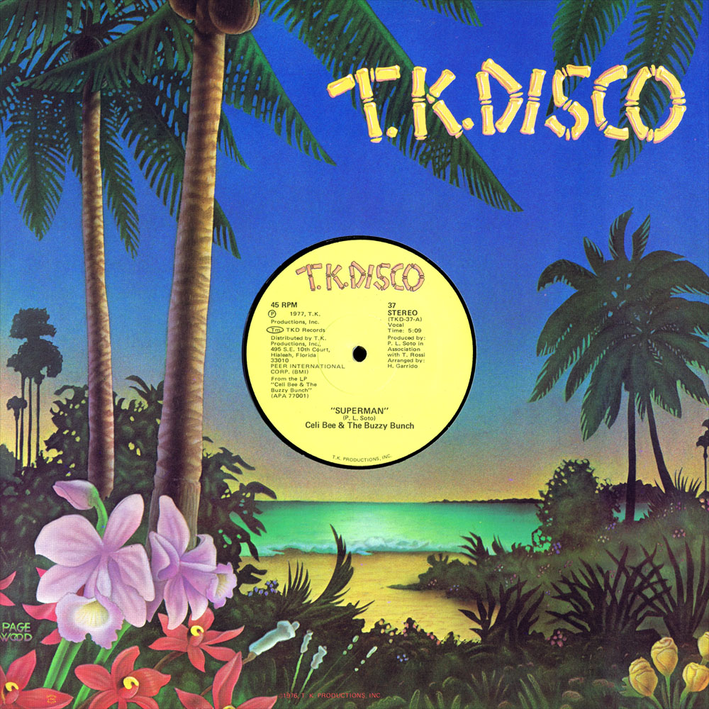 TK Disco Sleeve